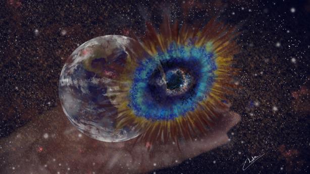 Olho de Deus - Constelação